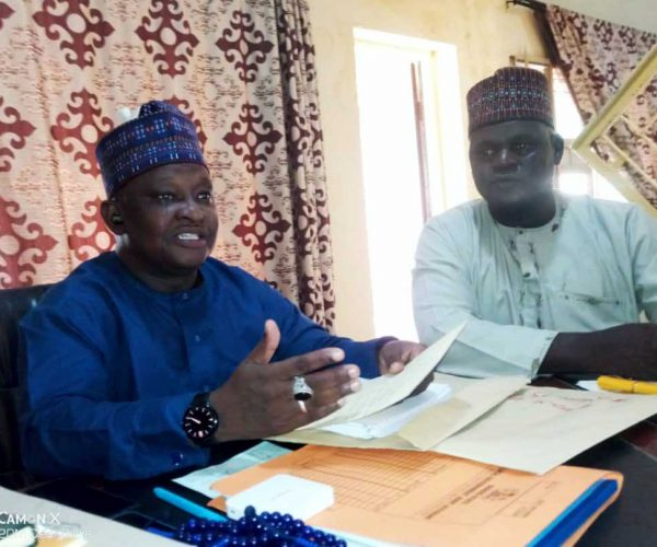 Inauguration of 10 Member Committee on Borno State University Remedial Programmes Enrollment